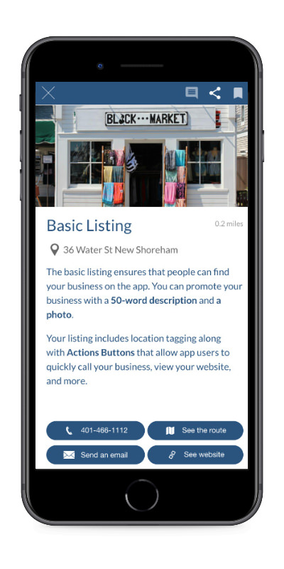Basic Listing iPhone